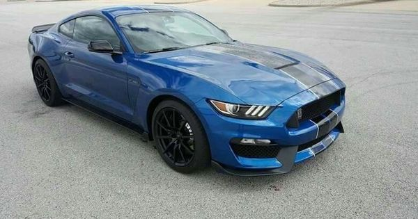 2017 ford mustang shelby gt350 in lightning blue gt 350. Black Bedroom Furniture Sets. Home Design Ideas
