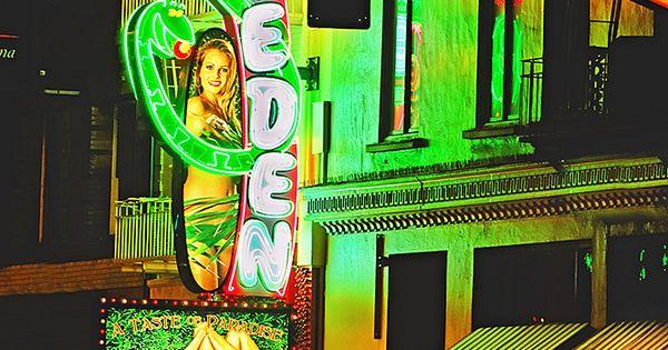 Garden Of Eden Strip Club In North Beach District San