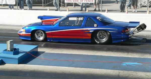 Drag Racing Cars >> drag cars | Drag Race Cars > Luminas > Picture of BLUE AND RED CHEVROLET LUMINA ... | Drag ...