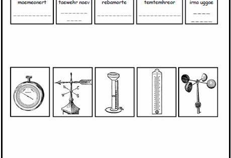 Homecourt Publishers Free Activity Weather Worksheet Weather Worksheets Weather Science Teaching Weather Weather tools worksheet