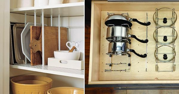 5 fa ons de ranger ses couvercles de casserole couvercle rangement et clisson. Black Bedroom Furniture Sets. Home Design Ideas
