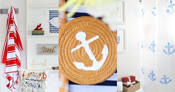 Do It Yourself Home Design: Nautical Home Decor DIY Projects