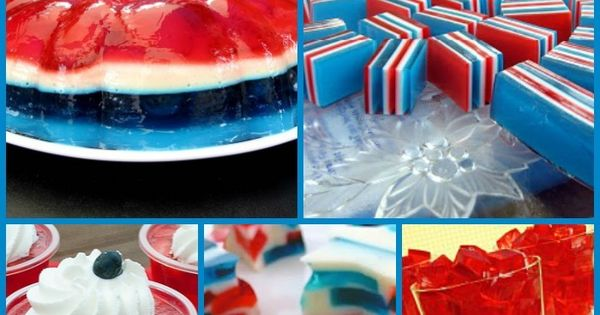 july 4th recipes jello