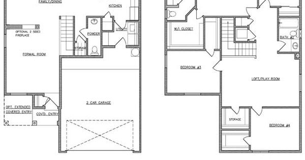 RayLee Homes The 3 Pointer Floor Plan Via Www.nmhometeam