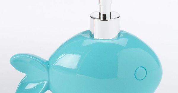 Aqua fish soap dispenser i have one in my bathroom d for Fish soap dispenser