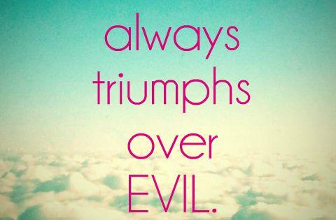 good triumphs over evil essays Good triumphs over evil essays jerodkt jerodktcu.