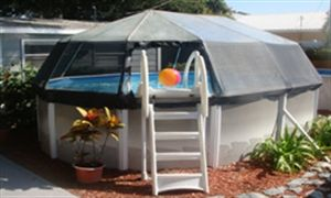 Screen Pool Domes Oval With Images Pool Screen Enclosure