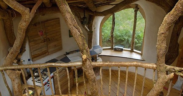 woodland view the house is fully sustainable traumh user pinterest hobbith hle hobbit. Black Bedroom Furniture Sets. Home Design Ideas