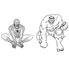 25 Popular Hulk Coloring Pages For Toddler Hulk Coloring Pages Spiderman Coloring Coloring Pages