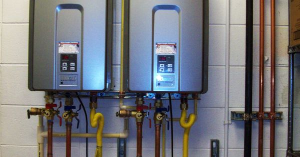Commercial Tank Less Water Heater Installation With Ez