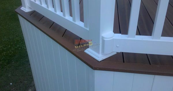 Deck Skirting And Decks On Pinterest