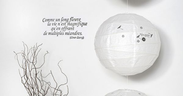 Voici comment customiser une boule chinoise diy pinterest boule chinoi - Customiser boule chinoise papier ...