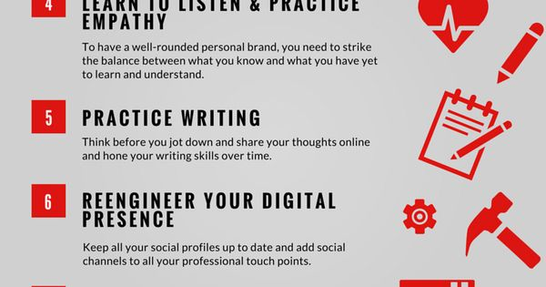 Your Personal Branding Strategy in 10 Steps (Infographic) by @Rose_Leadem via @Entrepreneur