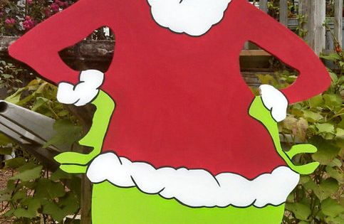 Grinch Christmas Yard Art Patterns Holiday Yard