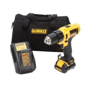 Dewalt 12 Volt Max Li Ion 3 8 In Cordless Drill Driver Kit Dcd710s2 At The Home Depot Cordless Drill Drill 18v Cordless Drill