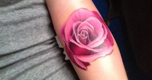 3D rose tattoo rosetattoo