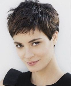 20 Short Hairstyles For Thick Hair Feed Inspiration Very Short Hair Haircut For Thick Hair Hair Styles
