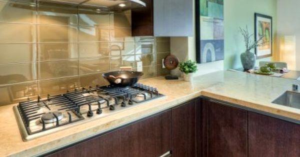 Large Format Glass Tile Backsplash Kitchen Design Glass Tile Backsplash Kitchen
