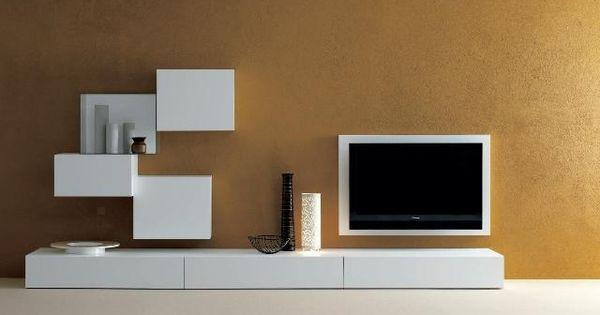 Mueble sal n estilo minimalista salones pinterest - Mueble salon minimalista ...
