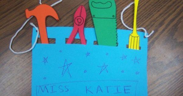 Community Helper Tool Belt Children's Craft / Art Project - Great for