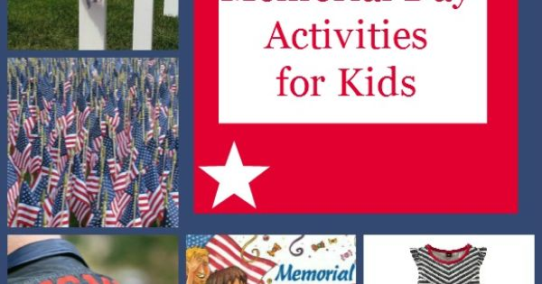 memorial day activities and games
