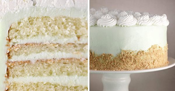 Key LIme Cream Cake. This sounds amazing, but probably not as good