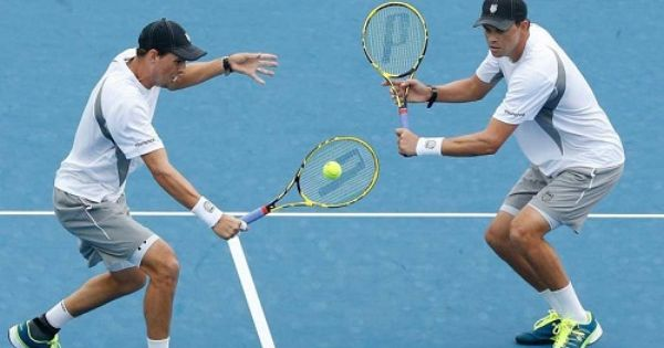 Bryan Brothers Super Stunned In Auckland Opener Bryan Brothers Bryan Brothers Tennis Tennis