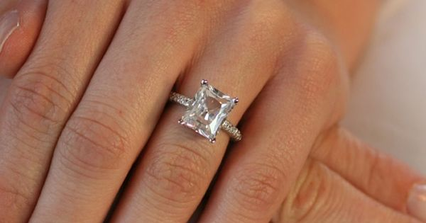 I am in love with Emerald cut diamonds. Want, want, want!