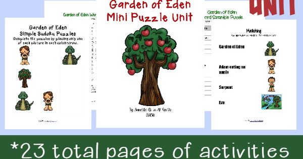 garden of eden essay Unlike most editing & proofreading services, we edit for everything: grammar, spelling, punctuation, idea flow, sentence structure, & more get started now.