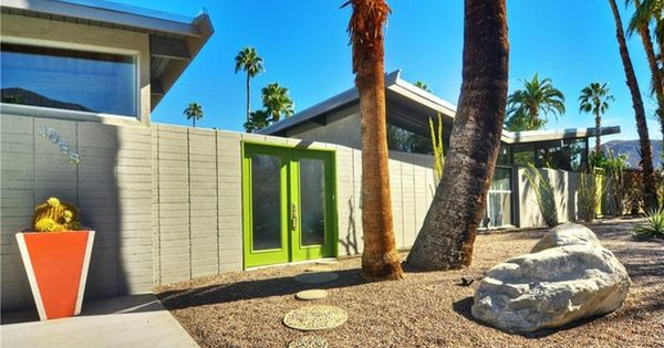 Richard Neutras Kaufmann House For Sale together with Time Capsule Homes as well Frank Sinatra Twin Palms Estate also Gebondete Oversize Steppjacke Von Ivy Park 6004388 furthermore Modern Restaurant Design Featuring Cool Bamboo Elements. on palm springs modern s