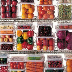 Amazon Com Rubbermaid Commercial Products Fg630400clr 4 Quart Carb X Space Saving Container With Images Refrigerator Organization Kitchen Organization Fridge Organization
