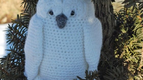 Crochet Pattern For Pikachu Doll : Great Snowy Owl Crochet Pattern - Inner Child Crochet ...