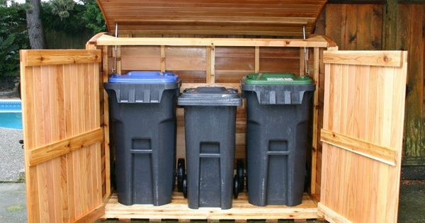 1000 Images About Garbage Can Shed On Pinterest: Outdoor Living Today