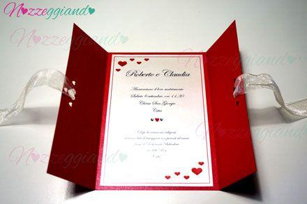 Tutorial Partecipazione Xxl Inviti Matrimonio Fai Da Te Biglietti Di Nozze Cartoleria Per Matrimoni