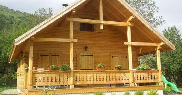 Casas de madera caba a de madera casas de madera aisladas - Casas madera nordicas ...