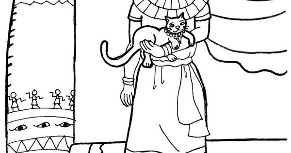 joseph and potifer coloring pages - photo#26