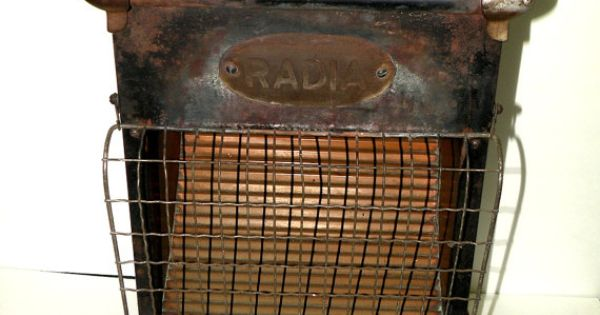 Antique Radia Reflector Gas Heater Victorian By Uncommonrecycables Shop Etsy