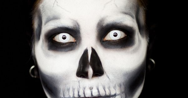 Skull Makeup halloween makeup costume Painted Body Painting Body| http://painted-body-alexandre.blogspot.com