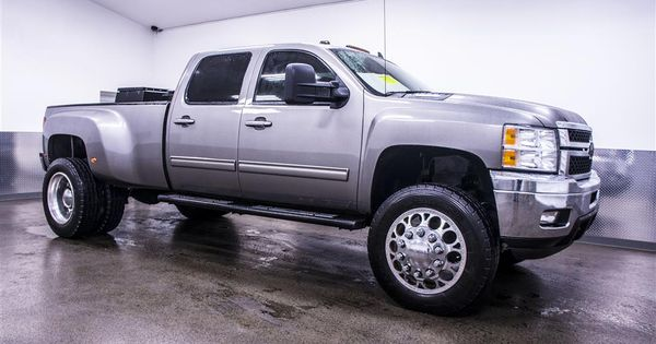 Lifted Trucks For Sale 2013 Chevrolet Silverado 3500hd Ltz