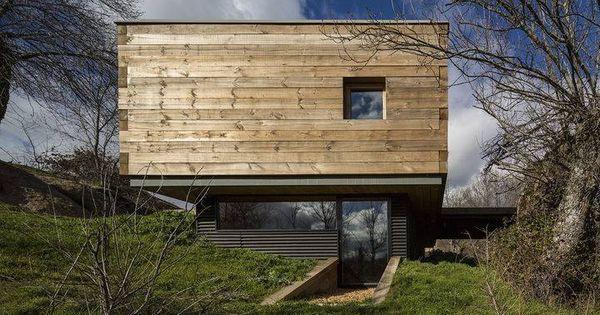 Country house in segovia spain moderna casa rural de for Casas de madera modernas