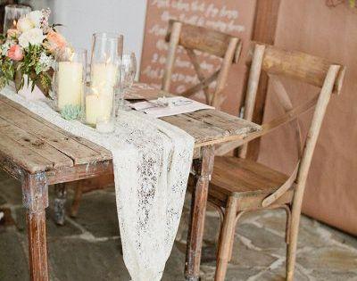 Decoraci n para bodas r stica y shabby chic bodas - Decoracion rustica chic ...