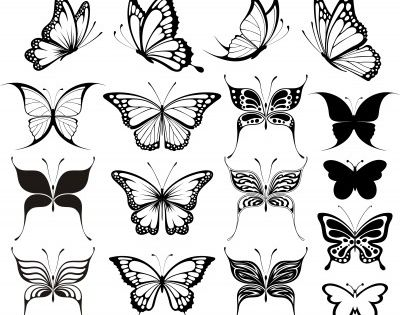 Butterfly is a girly girly tattoo and can be made in many