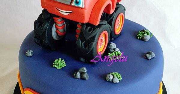 Gateau Blaze Et Les Monster Machines Ma Petite Patisserie Contact Isilda Neuf Fr En 2021 Petites Patisseries Gateau Anniversaire Bebe Gateau