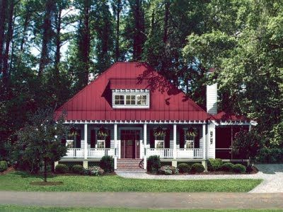 Low Country Home With Hip Roof And Shed Dormer Exterior