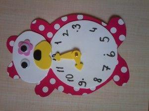 Bear Clock Craft Idea 1 Clock Craft Crafts Crafts For Kids
