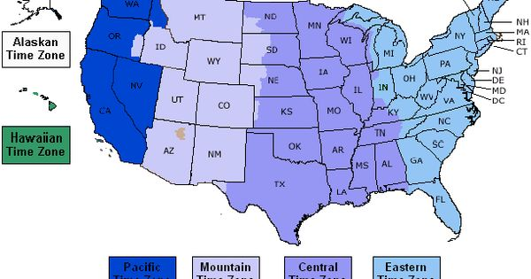 Click on map to learn about best times to call in USA with ...