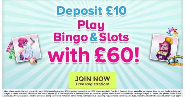 Play With The Best Uk Bingo Site With Free 40 Deposit Bonus On