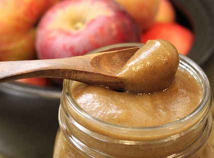 Fall gifts - crockpot apple butter - 1 dozen apples, peeled, cored,