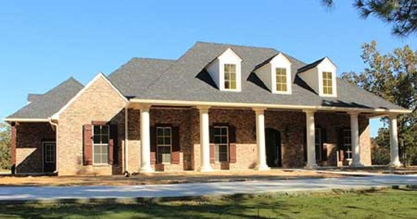 Plan 56337sm Graceful 4 Bedroom Acadian Home Plan House
