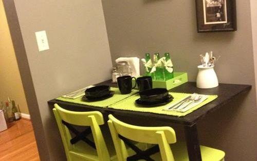 Las 10 mejores ideas de mesas para cocinas peque as 10 - Mesas para espacios pequenos ...